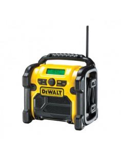 DeWALT DCR019-QW radioapparater Arbetsplats Svart, Gul Dewalt DCR019-QW - 1