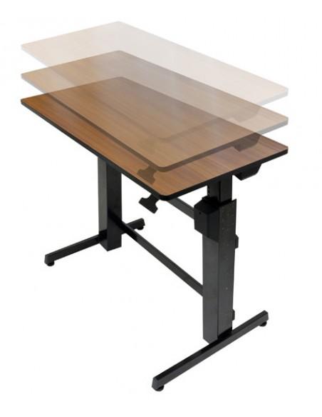Ergotron WorkFit-D, Sit-Stand Desk datorbord Körsbär Ergotron 24-271-927 - 3