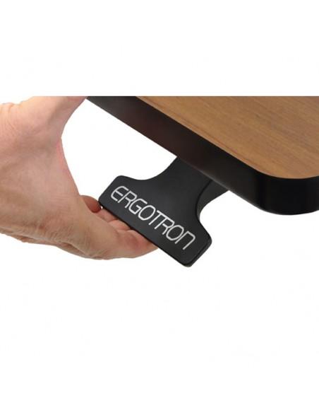 Ergotron WorkFit-D, Sit-Stand Desk datorbord Körsbär Ergotron 24-271-927 - 6