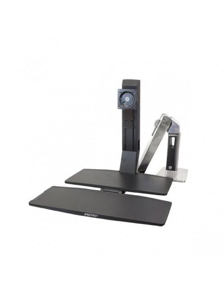"Ergotron WorkFit -A, Single LD @ Worksurface+ 61 cm (24"") Svart Ergotron 24-317-026 - 2"