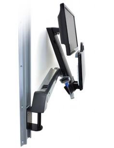 "Ergotron StyleView Sit-Stand Combo Arm 61 cm (24"") Gjuten aluminium Ergotron 45-266-026 - 1"