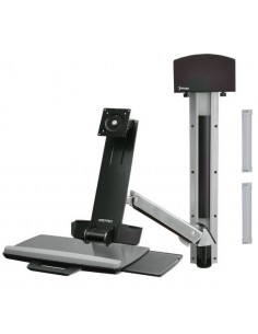 "Ergotron StyleView Sit-Stand Combo System 61 cm (24"") Alumiini Ergotron 45-273-026 - 1"
