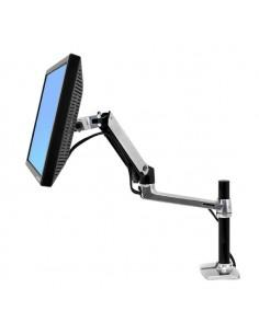 "Ergotron LX Series Desk Mount LCD Arm, Tall Pole 86.4 cm (34"") Black Ergotron 45-295-026 - 1"