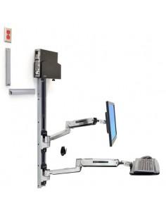 """Ergotron 45-359-026 monitorin kiinnike ja jalusta 106.7 cm (42"""") Hopea Ergotron 45-359-026 - 1"""