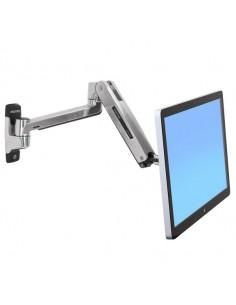"Ergotron LX HD Sit-Stand 116.8 cm (46"") Silver Ergotron 45-383-026 - 1"