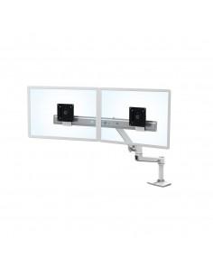 """Ergotron LX Series Desk Dual Direct Arm 63.5 cm (25"""") Freestanding White Ergotron 45-489-216 - 1"""