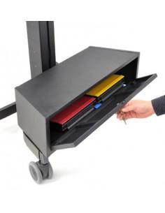 Ergotron TeachWell MDW Storage Bin desk drawer organizer Steel Graphite Ergotron 97-608 - 1