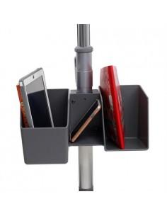 Ergotron 98-144-064 multimedia cart/stand Black, Grey, Stainless steel Universal Ergotron 98-144-064 - 1