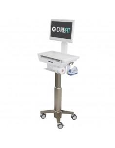 Ergotron CAREFIT SLIM LCD CART W DRAWER Grey, White PC Ergotron C50-2510-0 - 1
