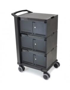Ergotron cart 48 Black Notebook Multimedia Ergotron DM48-1004-2 - 1