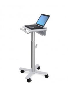 Ergotron StyleView Laptop Cart, SV10 Alumiini, Valkoinen Kannettava tietokone Multimediakärry Ergotron SV10-1100-0 - 1