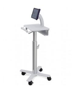 Ergotron StyleView Tablet Cart, SV10 Alumiini, Valkoinen Tabletti Multimediakärry Ergotron SV10-1400-0 - 1