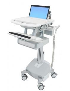 Ergotron SV44-1112-C multimedia cart/stand Aluminium, Grey, White Notebook Ergotron SV44-1112-C - 1