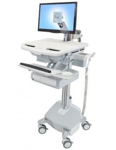 Ergotron SV44-1212-C multimedia cart/stand Aluminium, Grey, White Flat panel Ergotron SV44-1212-C - 1