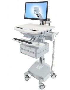 Ergotron SV44-1242-C multimedia cart/stand Aluminium, Grey, White Flat panel Ergotron SV44-1242-C - 1