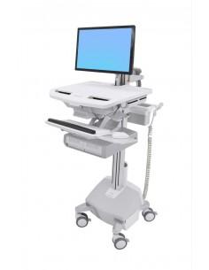 Ergotron StyleView Valkoinen Litteä paneeli Multimediakärry Ergotron SV44-12A2-2 - 1