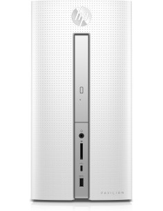 HP Pavilion 570-p021no A12-9800 Mini Tower 7th Generation AMD A12-Series APUs 16 GB DDR4-SDRAM 256 SSD Windows 10 Home PC Hp 1AU