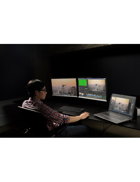 "HP DreamColor Z27x G2 Studio 68.6 cm (27"") 2560 x 1440 pixels Quad HD LED Black Hp 2NJ08A4#ABB - 11"