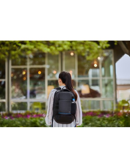 HP Recycled backpack Black Polyvinyl Butyral (PVB), Polyethylene terephthalate (PET) Hp 5KN28AA - 11