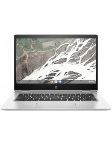 "HP Chromebook x360 14 G1 35.6 cm (14"") 1920 x 1080 pikseliä Kosketusnäyttö 8. sukupolven Intel® Core™ i3 8 GB DDR4-SDRAM 64 Hp 6"