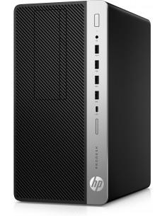 HP ProDesk 600 G5 9500 Micro Tower 9. sukupolven Intel® Core™ i5 8 GB DDR4-SDRAM 256 SSD Windows 10 Pro PC Musta Hp 7AC24EA#UUW