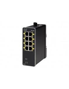 Cisco IE-1000-6T2T-LM verkkokytkin Hallittu Fast Ethernet (10/100) Musta Cisco IE-1000-6T2T-LM - 1