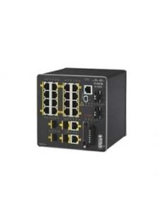 Cisco IE-2000-16TC-G-X nätverksswitchar hanterad L2 Fast Ethernet (10/100) Svart Cisco IE-2000-16TC-G-X - 1