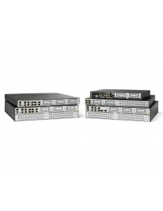 Cisco ISR4221-SEC/K9 wired router Gigabit Ethernet Black, Grey Cisco ISR4221-SEC/K9 - 1