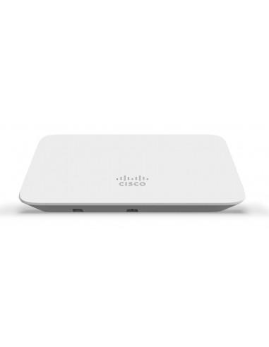 Cisco Meraki MR20-HW access-punkter för trådlösa nätverk 1300 Mbit/s Vit Strömförsörjning via Ethernet (PoE) stöd Cisco MR20-HW