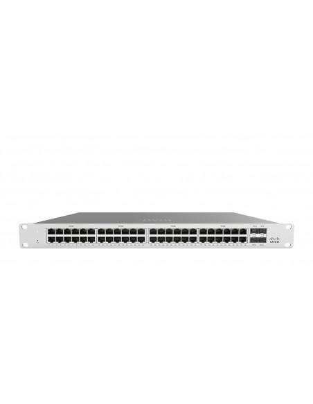 Cisco Meraki MS120-48LP Managed L2 Gigabit Ethernet (10/100/1000) Power over (PoE) 1U Grey Cisco MS120-48LP-HW - 1