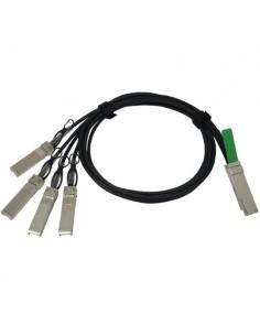 Cisco QSFP - 4xSFP10G, 2m InfiniBand-kaapeli QSFP+ 4 x SFP+ Cisco QSFP-4SFP10G-CU2M= - 1