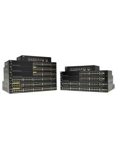 Cisco SF250-48HP-K9-EU verkkokytkin Hallittu L2 Fast Ethernet (10/100) Power over -tuki Musta Cisco SF250-48HP-K9-EU - 1