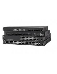 Cisco SX550X-12F-K9-EU verkkokytkin Hallittu L3 Musta Cisco SX550X-12F-K9-EU - 1