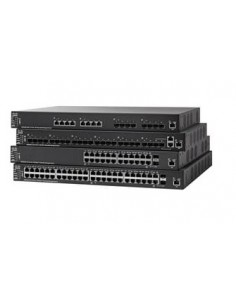 Cisco SX550X-52-K9-EU verkkokytkin Hallittu L3 Gigabit Ethernet (10/100/1000) Musta Cisco SX550X-52-K9-EU - 1