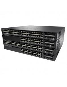 Cisco Catalyst WS-C3650-24TS-E nätverksswitchar hanterad L3 Gigabit Ethernet (10/100/1000) 1U Svart Cisco WS-C3650-24TS-E - 1