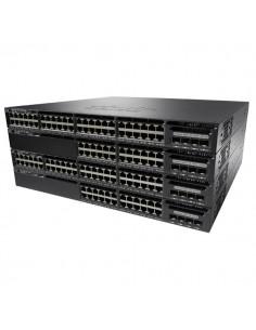 Cisco Catalyst WS-C3650-48FWQ-S network switch Managed L3 Gigabit Ethernet (10/100/1000) Power over (PoE) 1U Black Cisco WS-C365