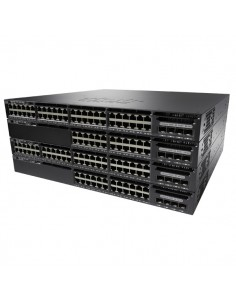 Cisco Catalyst WS-C3650-48FWS-S verkkokytkin Hallittu L3 Gigabit Ethernet (10/100/1000) Power over -tuki 1U Musta Cisco WS-C3650