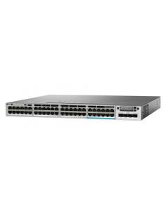 Cisco Catalyst WS-C3850-48U-S network switch Managed L3 Gigabit Ethernet (10/100/1000) Power over (PoE) 1U Grey Cisco WS-C3850-4