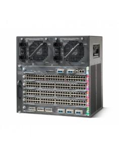 Cisco WS-C4506-E= nätverksutrustningschassin 10U Svart Cisco WS-C4506-E= - 1