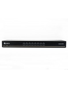 Vertiv Avocent AV108BND8-400 KVM-switchar Rackmontering Svart Vertiv AV108BND8-400 - 1
