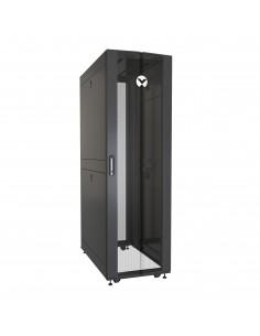 Vertiv VR rack VR3100 cabinet 42U Freestanding Black, Transparent Vertiv VR3100 - 1