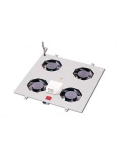 Digitus DN-19 FAN-4-N kylningsutrustning för hårdvara Grå Digitus DN-19 FAN-4-N - 1