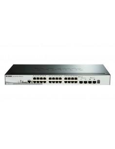 D-Link DGS-1510-28P network switch Managed L3 Gigabit Ethernet (10/100/1000) Power over (PoE) Black D-link DGS-1510-28P - 1