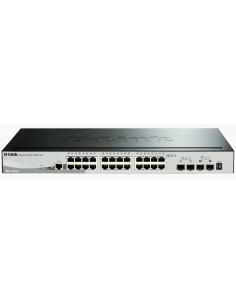 D-Link DGS-1510 Managed L3 Gigabit Ethernet (10/100/1000) Black D-link DGS-1510-28X - 1