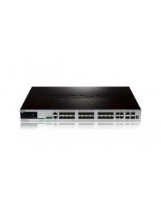 D-Link DGS-3420-28SC nätverksswitchar hanterad L2 Strömförsörjning via Ethernet (PoE) stöd Svart D-link DGS-3420-28SC - 1