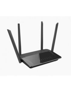 D-Link AC1200 Dual Band trådlös router Gigabit Ethernet Dual-band (2,4 GHz / 5 GHz) Svart D-link DIR-842 - 1