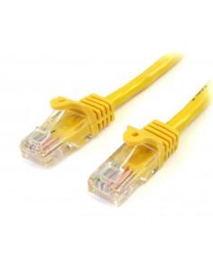 StarTech.com 45PAT2MYL verkkokaapeli Keltainen 2 m Cat5e U/UTP (UTP) Startech 45PAT2MYL - 1