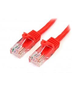 StarTech.com 45PAT3MRD verkkokaapeli Punainen 3 m Cat5e U/UTP (UTP) Startech 45PAT3MRD - 1