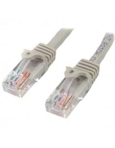 StarTech.com Cat5e Ethernet patchkabel med hakfria RJ45-kontakter - 0.5 m, Grå Startech 45PAT50CMGR - 1