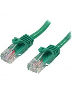 StarTech.com Cat5e Ethernet patchkabel med hakfria RJ45-kontakter - 5 m, Grön Startech 45PAT5MGN - 1